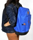 Tas Kuliah+Laptop 2in1 Blue Corduray