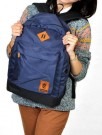 Tas Kuliah+Laptop 2in1 Dark Blue Corduray