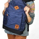 Tas Kuliah+Laptop 2in1 Dark Blue Corduray- 175rb (Corduro Segundo Dark Blue)