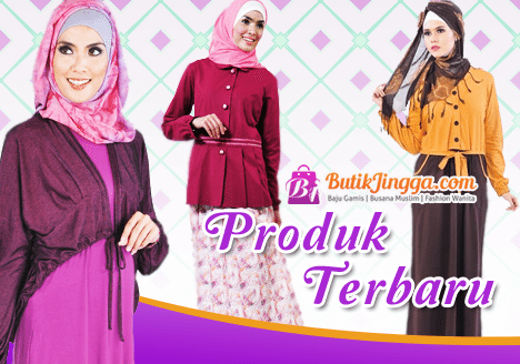 100 Model Baju Gamis Terbaru 2019 Cantik Murah Butikjingga Com