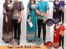 Gamis Couple Etnik Batik CP08