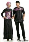 Baju Couple Muslim Etnik Batik CP06