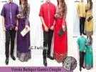 Baju Couple Muslim Versia