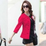 Blazer Sakura S146 Paragon tebel+ inner allsize fit M-L - 84rb (SOLD OUT)