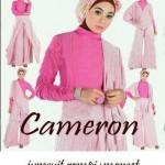 Cameron Hijabers Jumpsuit+manset spandex allsize fit L