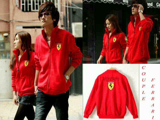 Jacket Couple Ferary Merah - 119rb