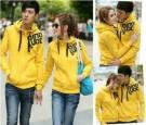 Jaket Couple Qing Kuning Hoodie Babytery