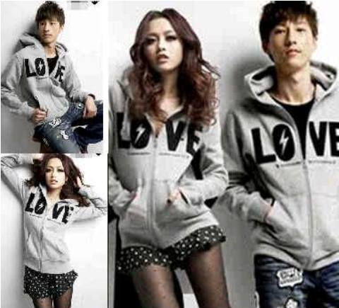 Jaket Couple Keren Thunder Love Baby terry