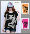 Kaos Casual Batwing Abstrak AN.787 Combed