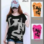 Kaos Casual Batwing Abstrak AN.787 Combed - 55rb