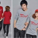 Kaos Couple DiaryLove Spandex Allsize fit L - 87rb