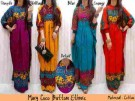Maxi Dress Muslim Etnik Button (Maxi Coco)