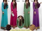 Maxi Dress S127 Spandex Korea Kombi Songket