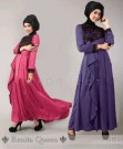 Maxi Dress S129 Spandex Kombi Brokat