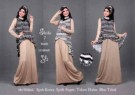 Maxi Dress Anggun S142 Shifa7 Spandex