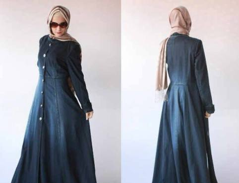 Maxi Shakila Jeans Wash Allsize fit XL - 145rb