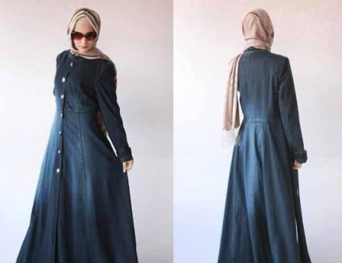 Maxi Shakila Jeans Wash Allsize fit XL - 145rb