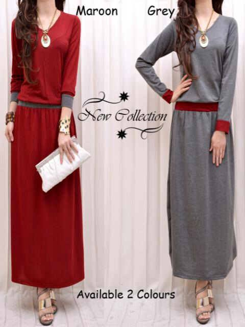 Maxidress S105 Spandex allsize fit L - 73rb