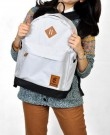 Tas Kuliah+Laptop 2in1 GREY Corduray