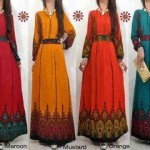 ZARINA maxidress katun rayon 3915 allsize fit L - 119rb