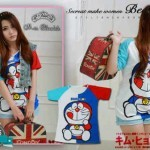 Kaos Doraemon S175 Combed - 58rb
