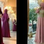 Maxi P14 Fatimah spandex+brokat+pashmina