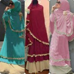 Baju Gamis Syarii Ghumaisyah Dhabi