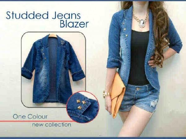 Blazer Jeans + Inner BJS202 Studded