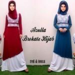 Gamis Brokat Azulla R111