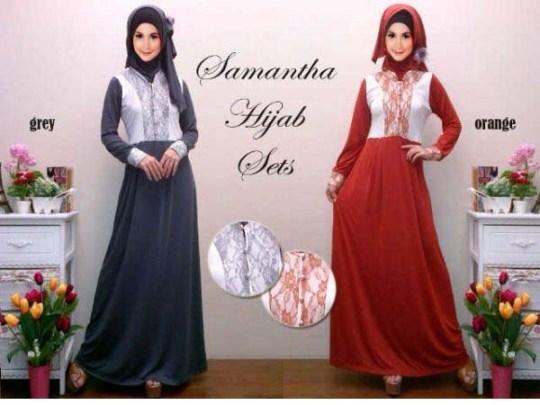 Gamis Brokat Samantha R110