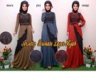 Gamis Brokat Layer Arzetty R109