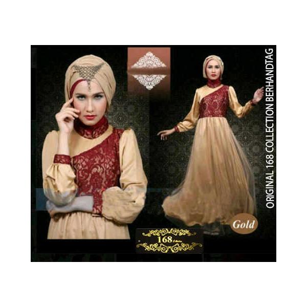 Gamis Satin Arabian Hijab R116