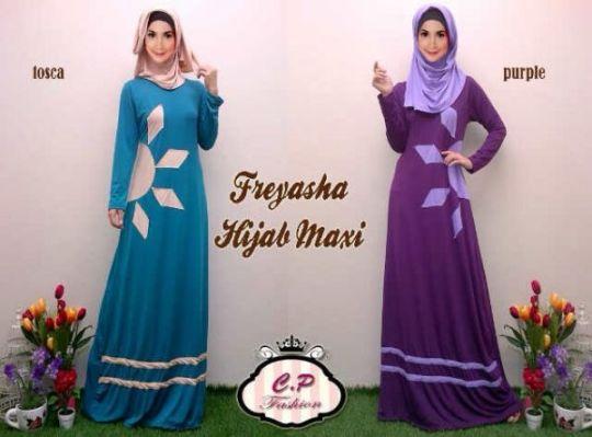 Baju Gamis Remaja Freyasha Hijab Busana Muslimah Modern