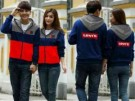 Jaket Couple Levi's 501 Babyterry
