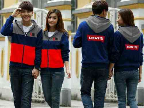 95 Jaket Levis Couple Model Terbaru HD Terbaik