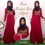 RG128 Raisa hijab maroon