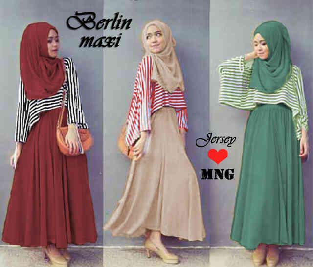 15 Model Baju Muslim Gamis Modern Remaja Baju Muslimah