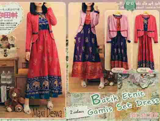 maxi batik etnik bali deswa
