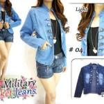 J75 Blazer Military Jeans