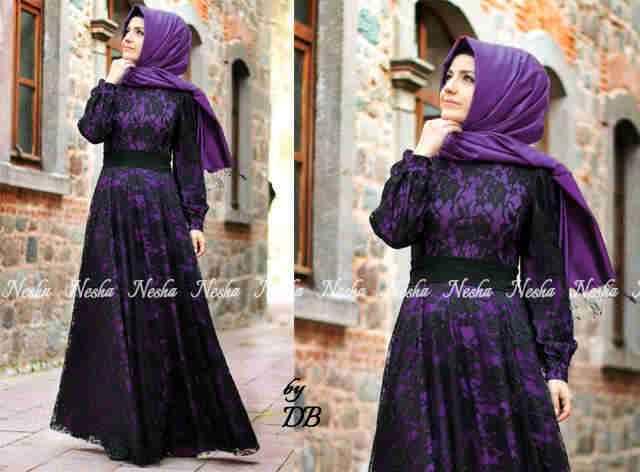 Trend Model Baju Gamis Baju Batik Baju Muslim 2015 - YouTube
