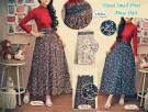 Rok Panjang Rayon Print Bunga