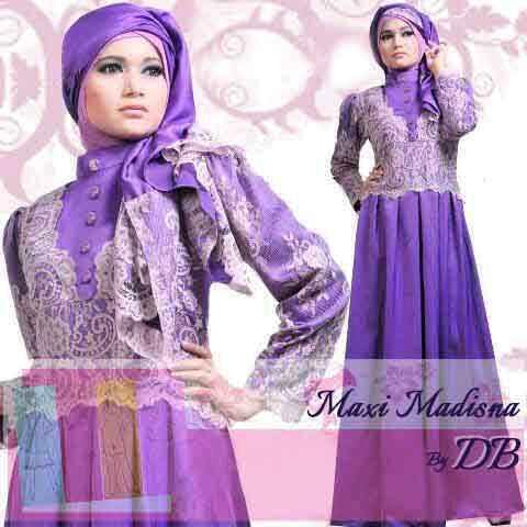 Model Baju Gamis Muslimah Koleksi Busana Jilbab Kerudung