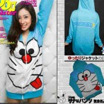 jaket-doraemon-fleece