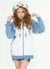 Jaket Owl Fleece