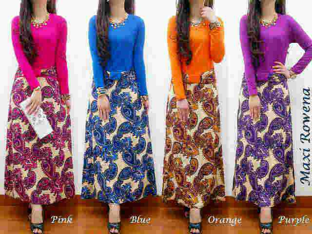 Long Dress Rowena G226 Butik Jingga