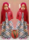 Gamis Barbie Burberry Kid Gk.240