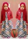 Gamis Barbie Burberry Kid Gk.240