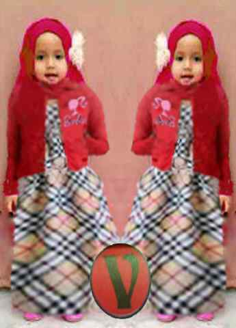 GK.240 Barbie Burberry Kid