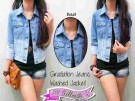 Jaket Jeans-washed Gradasi JJ212