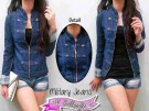 Blazer Military Button Jeans Vb.236